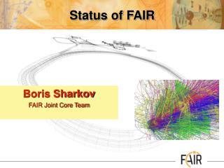 Status of FAIR