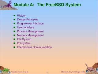 Module A:  The FreeBSD System