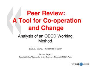 Peer Review:  A Tool for Co-operation and Change