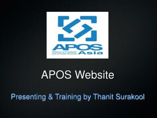 APOS Website