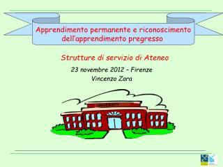 23 novembre 2012 – Firenze Vincenzo Zara