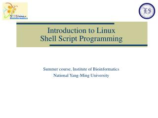 Introduction to Linux  Shell Script Programming