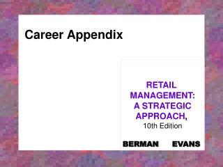 Career Appendix