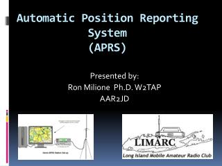 Automatic Position Reporting System (APRS)
