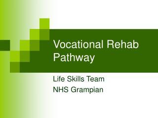 Vocational Rehab Pathway