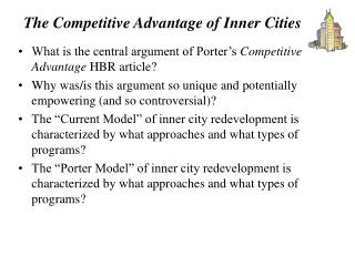 The Competitive Advantage of Inner Cities