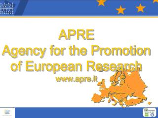 APRE   Agency for the Promotion of European Research apre.it