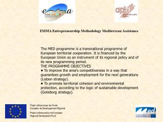 Projet  cofinancé par les Fonds Européen de Developpement Régional