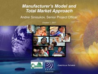 Manufacturer s Model and  Total Market Approach