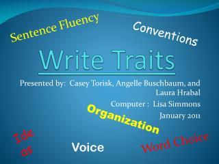 Write Traits