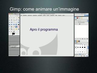 Gimp: come animare un'immagine