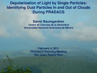 Depolarization of Light by Single Particles: Identifying Dust Particles In and Out of Clouds