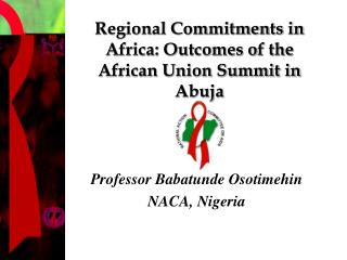 Regional Commitments in Africa: Outcomes of the African Union Summit in Abuja