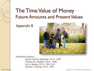 The Time Value of Money Future Amounts and Present Values