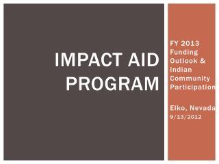 Impact Aid program