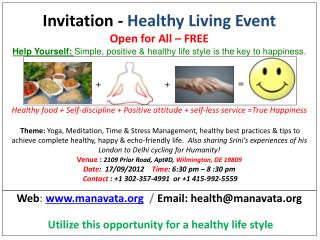 Web :  manavata   /  Email : health@manavata