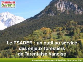 Assemblée du Pays Tarentaise-Vanoise