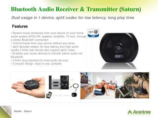 Bluetooth Audio Receiver & Transmitter ( Saturn )