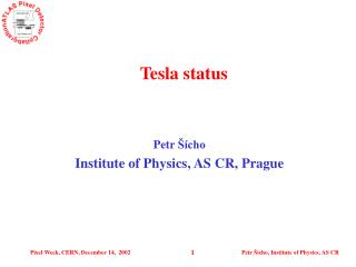 Tesla status