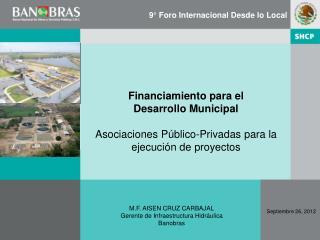 Financiamiento para el  Desarrollo Municipal