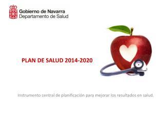 PLAN DE SALUD 2014-2020