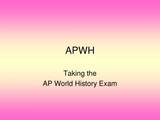 APWH