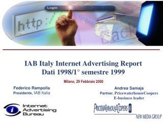 Milano, 29 Febbraio 2000