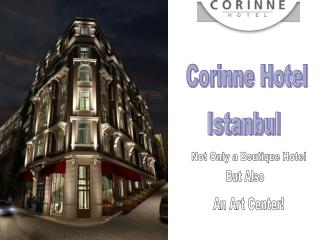 Hotel in Beyoglu Istanbul