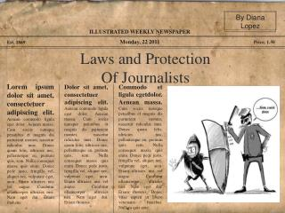 Laws and Protection Of Journalists
