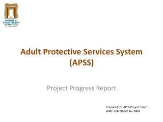 Adult Protective Services System (APSS)