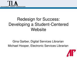 Redesign for Success: Developing a Student-Centered Website