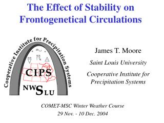 The Effect of Stability on Frontogenetical Circulations