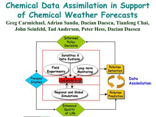 Chemical Data Assimilation in Support of Chemical Weather Forecasts