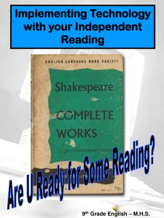 Implementing Technology with your Independent Reading