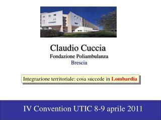 Claudio Cuccia  Fondazione Poliambulanza Brescia