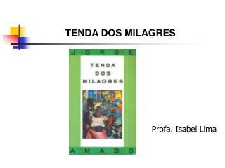 Profa. Isabel Lima