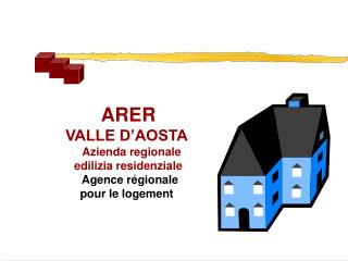 ARER VALLE D'AOSTA Azienda regionale  edilizia residenziale Agence régionale  pour le logement