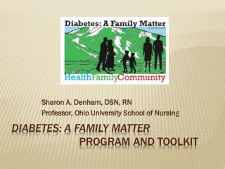 Diabetes: A Family Matter  Program and Toolkit