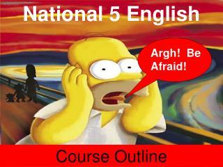National 5 English