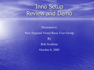 Inno Setup   Review and Demo