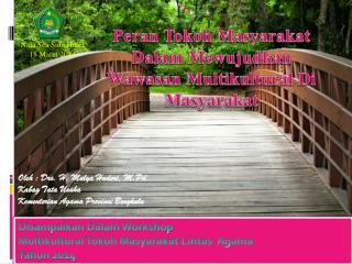 Oleh : Drs. H. Mulya Hudori, M.Pd Kabag Tata Usaha  Kementerian Agama Provinsi Bengkulu