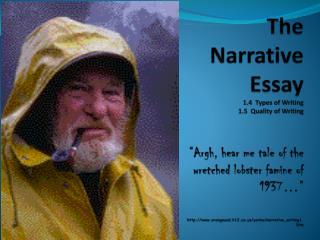Six Elements of a Narrative