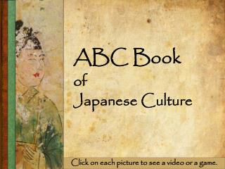 ABC Book of Japanese Culture