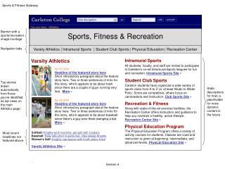Sports & Fitness Gateway