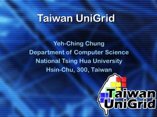 Taiwan UniGrid