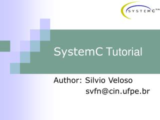 SystemC Tutorial