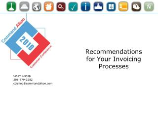 Recommendations for Your Invoicing Processes