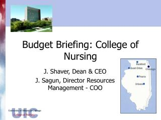 Budget Briefing: College of Nursing