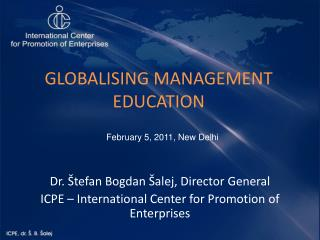 GLOBALISING MANAGEMENT EDUCATION