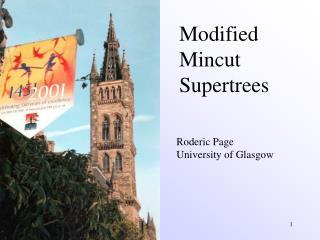 Modified  Mincut  Supertrees